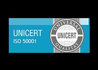 UniCert ISO 50001 Zertifizierung