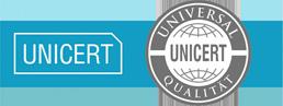 UniCert logo