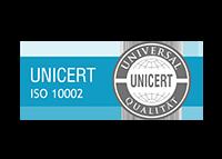 UniCert ISO 10002 Zertifizierung