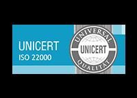 UniCert ISO 22000 Zertifizierung